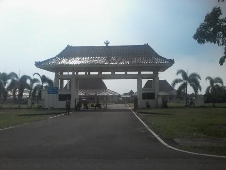 Nampak kantor Pemerintah Kabupaten (Pemkab) Banyuasin. (foto/SN/Siryanto)