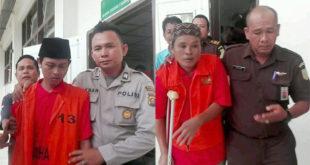 2 Eksekutor Pembunuh Driver Taksi Online Sofyan Divonis Mati