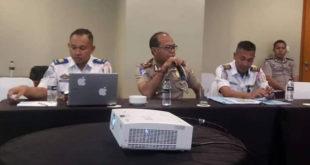 Satlantas & Dishub Banyuasin Hadiri Penilaian Penghargaan Wahana Tata Nugraha 2019