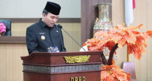 Wabup Muba Tanggapi Pemandangan Umum Fraksi DPRD Terkait Pertanggungjawaban APBD 2018